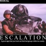 上へ Escalation したら・・・